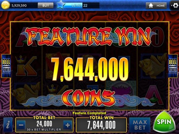 big win on 5 dragons playing aristocrat pokies online