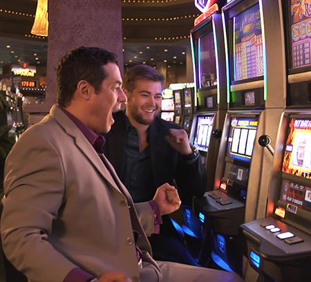 Michael Pintar - Lead Technician - Catfish Bend Casino Slot Machine